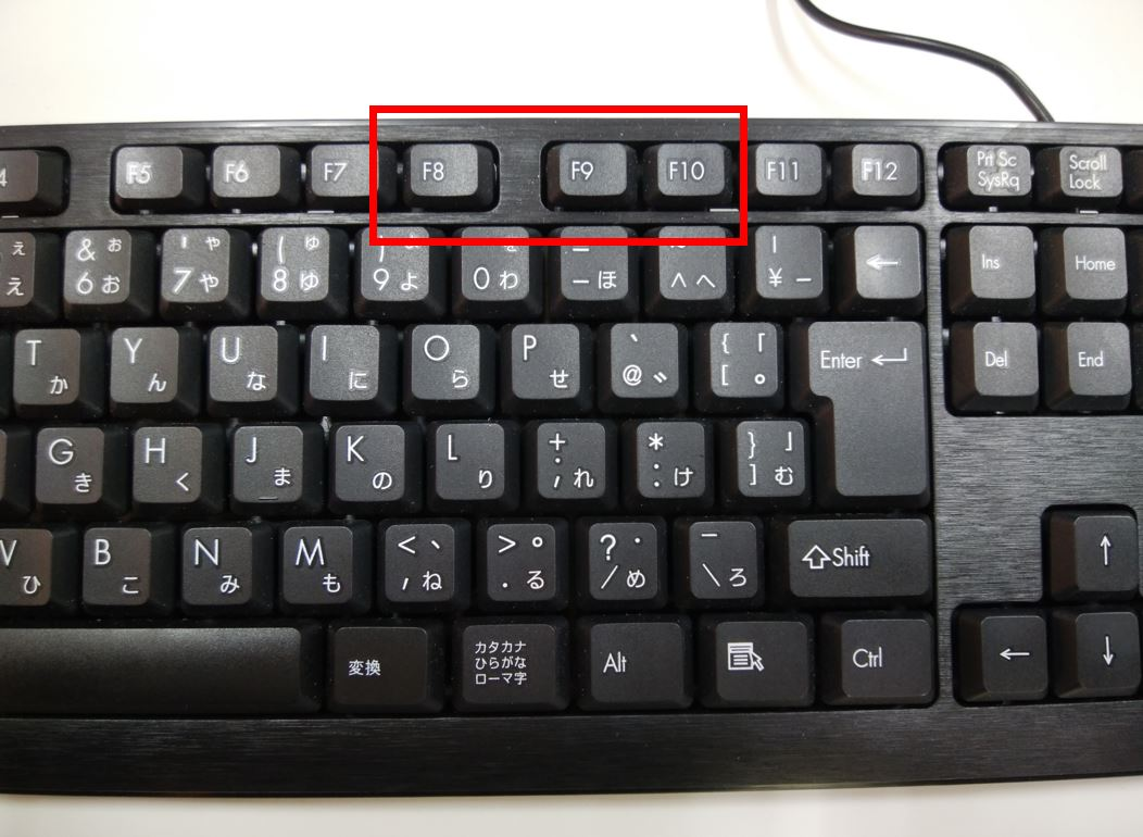 ローマ字 入力 キーボード